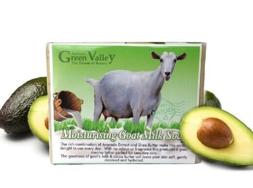 GreenValley Goat Milk Soap-牛油果